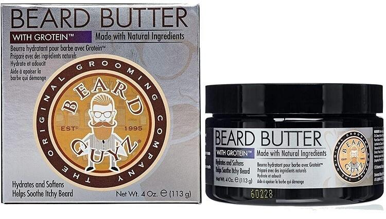 Beard Guyz Beard Butter for Your Dry Beard, 4 Ounce