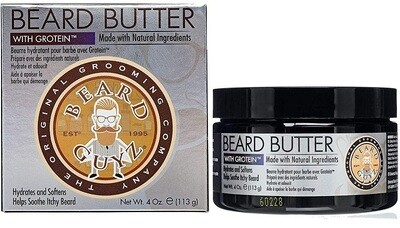 Beard Guyz Beard Butter for Your Dry Beard, 4 Ounce