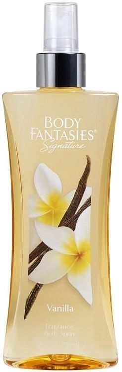 Body Fantasies Signature Body Spray, Vanilla, 8 fl Ounce