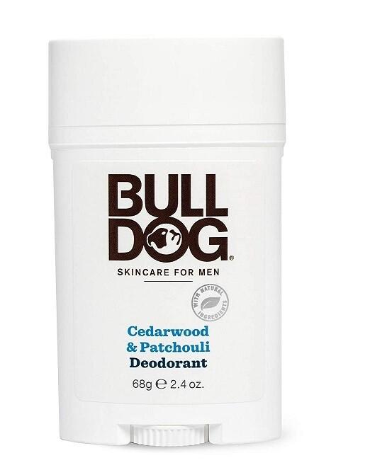 Bulldog Mens Deodorant Cedarwood Patchouli, 2.4 Ounce