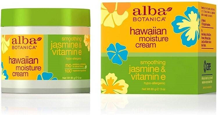 Alba Botanica Smoothing Jasmine and Vitamin E Hawaiian Moisture Cream, 3 Ounce