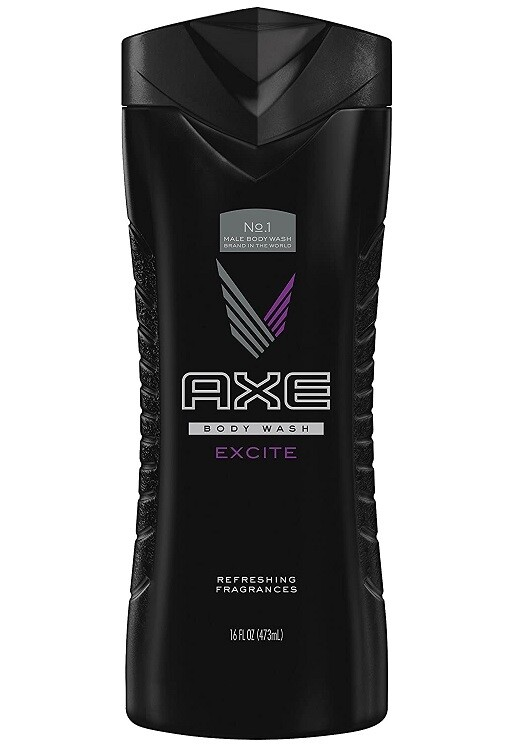 Axe Body Wash for Men, Excite, 16 fl Ounce