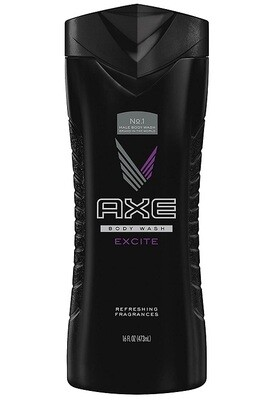 Axe Body Wash for Men, Excite, 16 fl Ounce