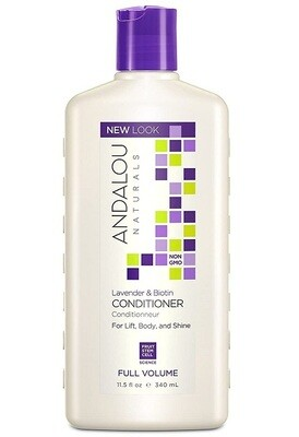 Andalou Naturals Lavender and Biotin Full Volume Hair Conditioner, 11.5 Ounce