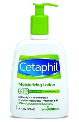 Cetaphil Fragrance Free Moisturizing Lotion, 16 fl Ounce
