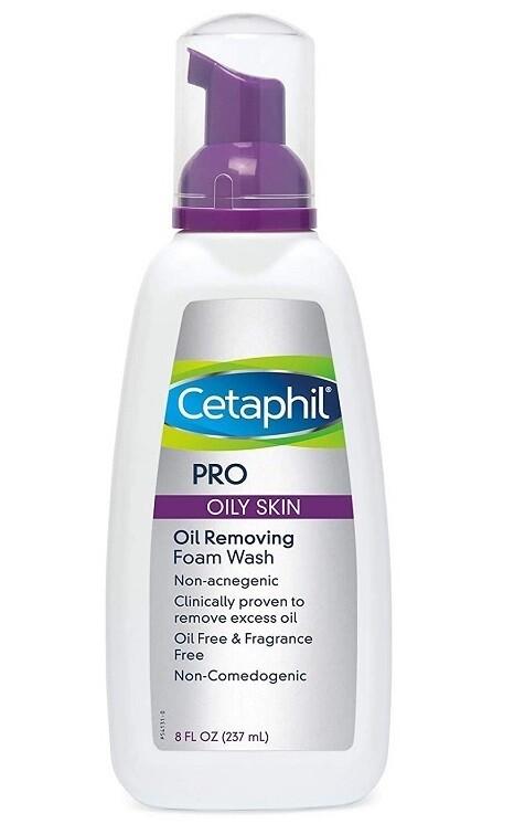 Cetaphil Pro Oil Removing Foam Wash, 8 fl Ounce