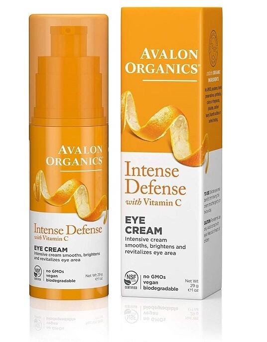 Avalon Organics Intense Defense Eye Cream, 1 Ounce
