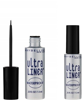 Maybelline New York Ultra-Liner Liquid Liner, Waterproof, Black 135L-01, 0.25 fl Ounce