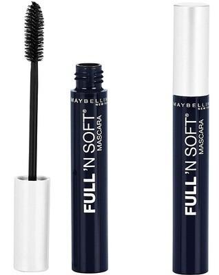 Maybelline Full N Soft Washable Mascara, Very Black, 1 Tube