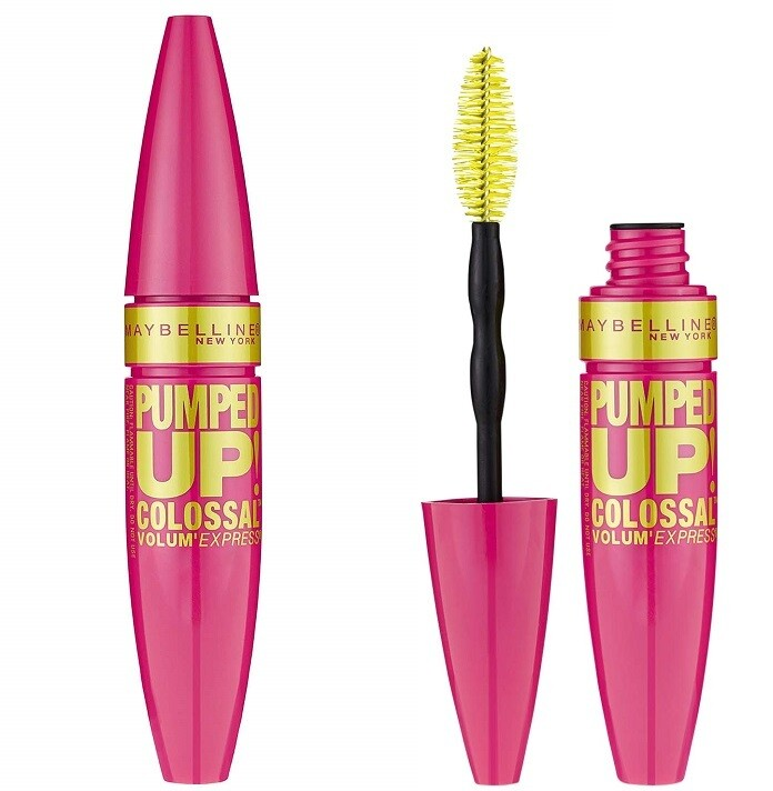 Maybelline New York Volum' Express Pumped Up! Colossal Washable Mascara, Glam Black, 0.33 fl Ounce