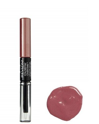 Revlon ColorStay Overtime Lipcolor with Lip Gloss, Bare Maximum, 0.07 Ounce