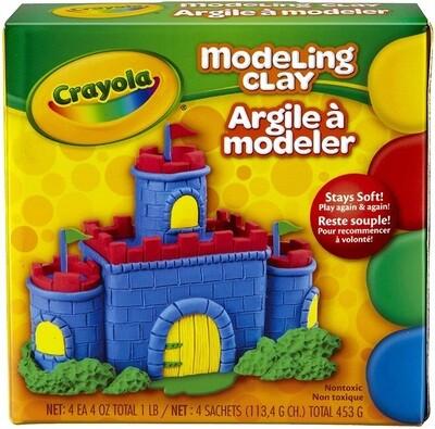 Crayola Modeling Clay, 1 Box