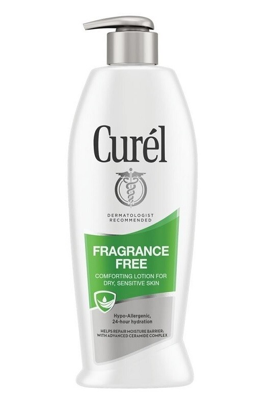 Curél Fragrance Free Comforting Body Lotion for Dry, Sensitive Skin, 13 Ounce