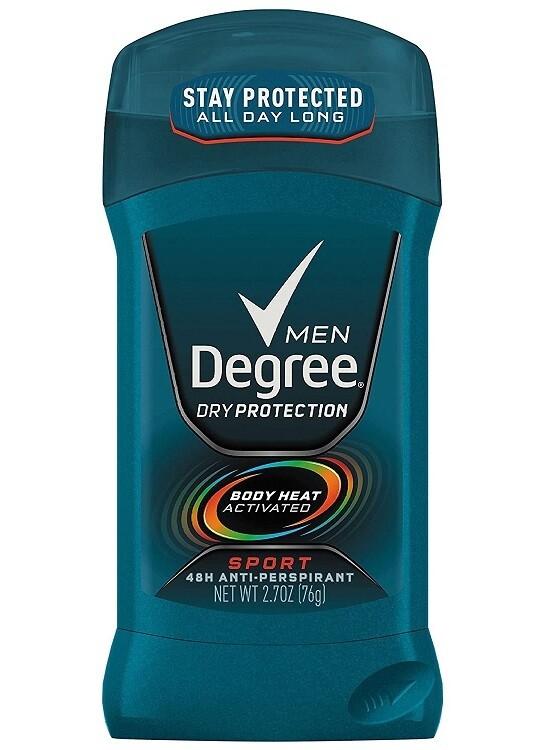 Degree Men Antiperspirant Deodorant Stick, Sport, 2.7 Ounce