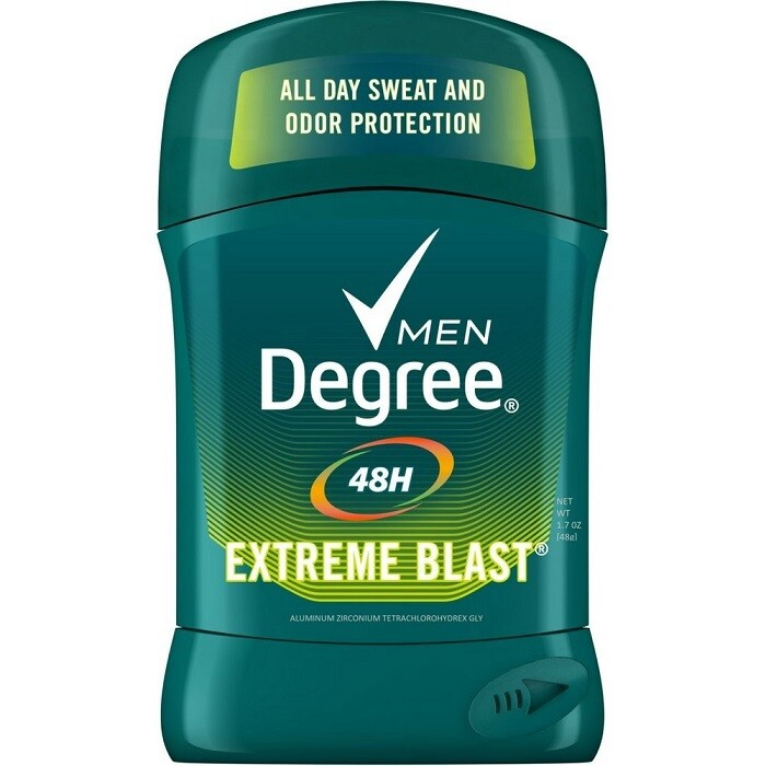 Degree Men Antiperspirant Stick, Extreme Blast, 1.7 Ounce