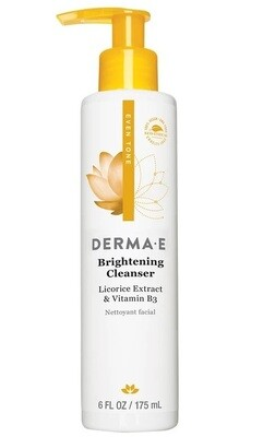 Derma E Brightening Cleanser, 6 Ounce
