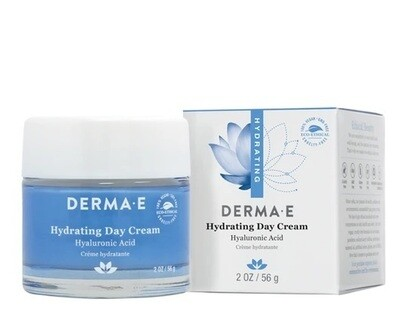 Derma E Hydrating Day Cream with Hyaluronic Acid, 2 Ounce
