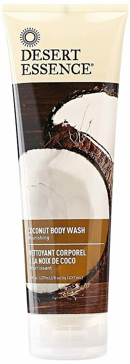 Desert Essence Coconut Body Wash, 8 fl Ounce