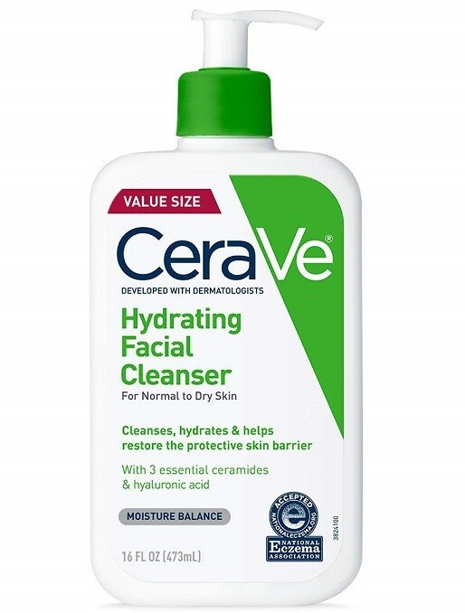 Cerave Hydrating Facial Cleanser, 16 fl Ounce