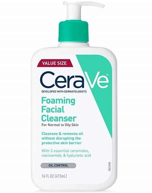 Cerave Foaming Facial Cleanser, 16 fl Ounce