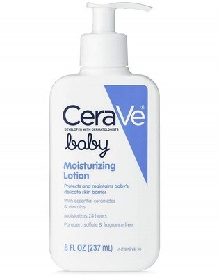 CeraVe Moisturizing Baby Lotion, 8 fl Ounce