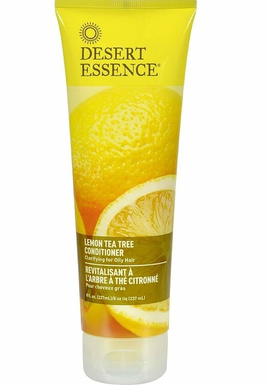 Desert Essence Lemon Tea Tree Hair Conditioner, 8 fl Ounce