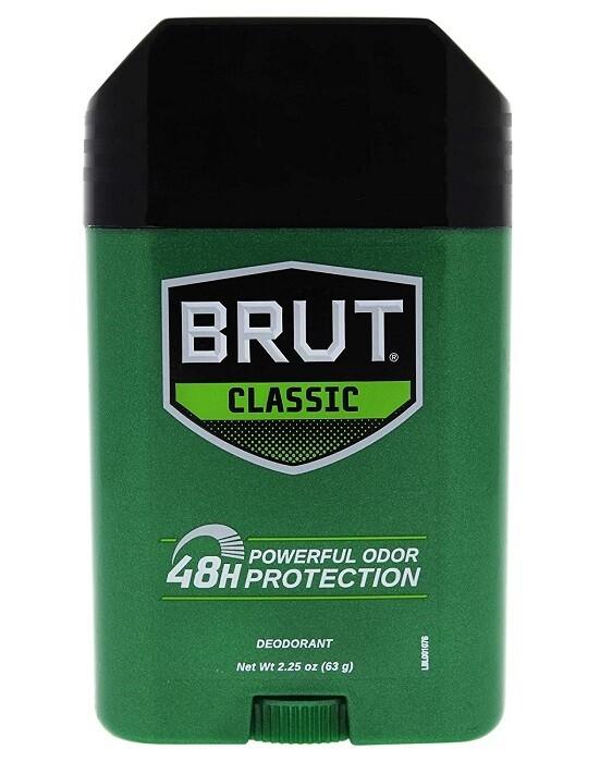 Brut Classic Men Deodorant Stick, 2.25 Ounce