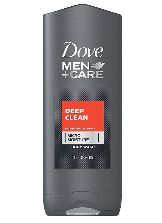 Dove Men Care Body and Face Wash, Deep Clean 13.5 fl Ounce