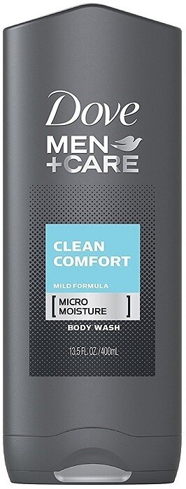 Dove Men Care Body and Face Wash, Clean Comfort 13.5 fl Ounce