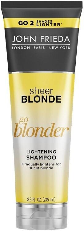 John Frieda Sheer Blonde Go Blonder Lightening Hair Shampoo, 8.3 fl Ounce