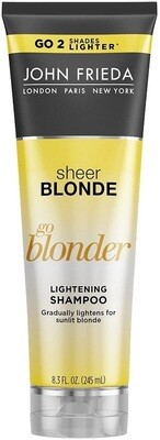 John Frieda Sheer Blonde Go Blonder Lightening Hair Shampoo, 8.3 fl Ounce
