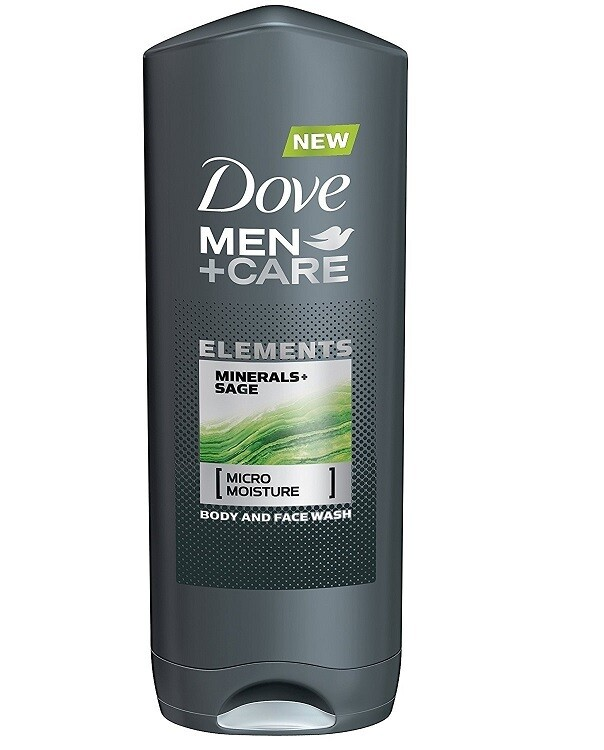 Dove Men Care Elements Body Wash, Minerals and Sage, 13.5 fl Ounce