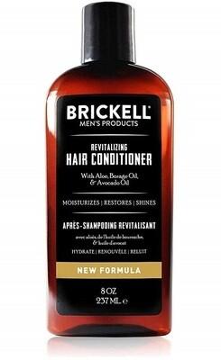 Brickell Men's Revitalizing Hair Conditioner for Men, 8 Ounce