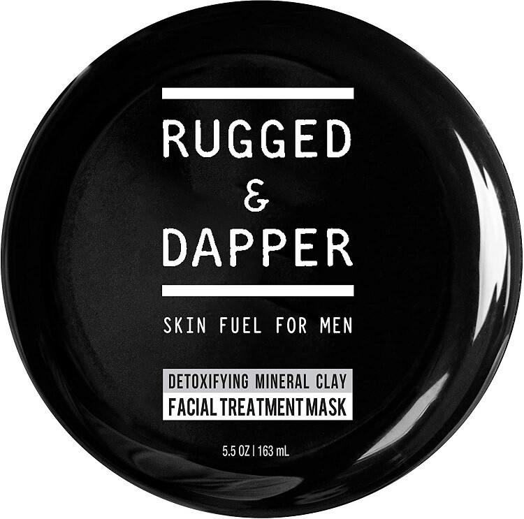 Rugged and Dapper Detox and Acne Face Mask for Men, 5.5 Ounce