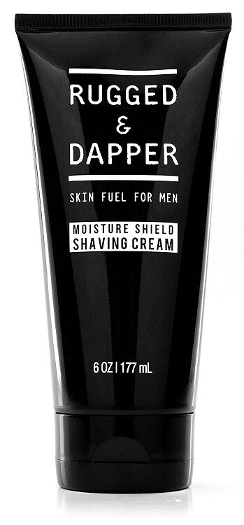Rugged and Dapper Shaving Cream for Men, 6 Ounce