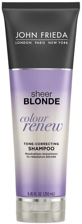 John Frieda Sheer Blonde Colour Renew Purple Shampoo, 8.45 Ounce