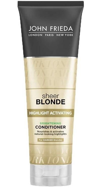 John Frieda Sheer Blonde Highlight Activating Brightening Hair Conditioner, 8.45 Ounce