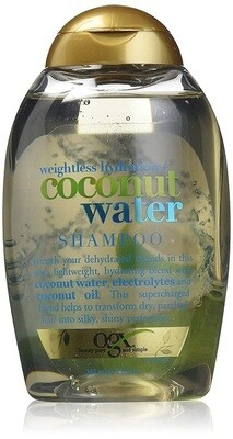 OGX Weightless Hydration Coconut Water Shampoo, 13 Ounce
