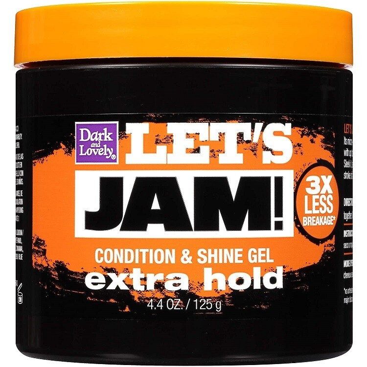 Lets Jam Hair Condition and Shine Gel, Extra Hold, 4.4 Ounce