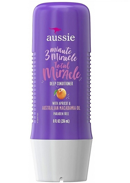 Aussie 3 Minute Miracle Strong Hair Conditioning Treatment, 8 Ounce