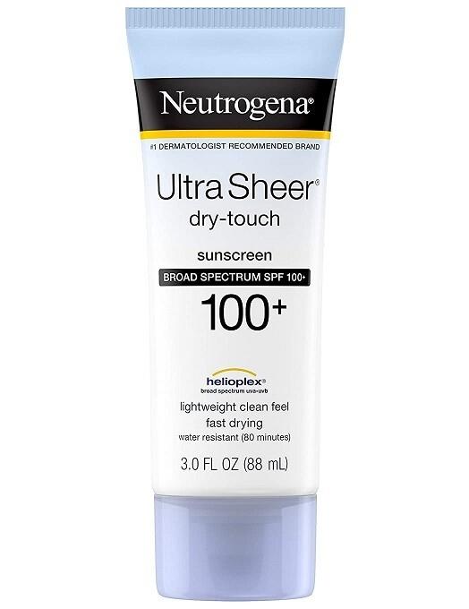 Neutrogena Ultra Sheer Dry-Touch Sunscreen Lotion, Spf 100, 3 fl Ounce