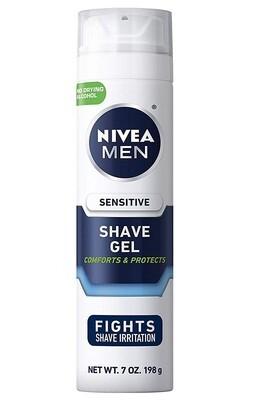 Nivea Men Sensitive Shaving Gel, 7 Ounce