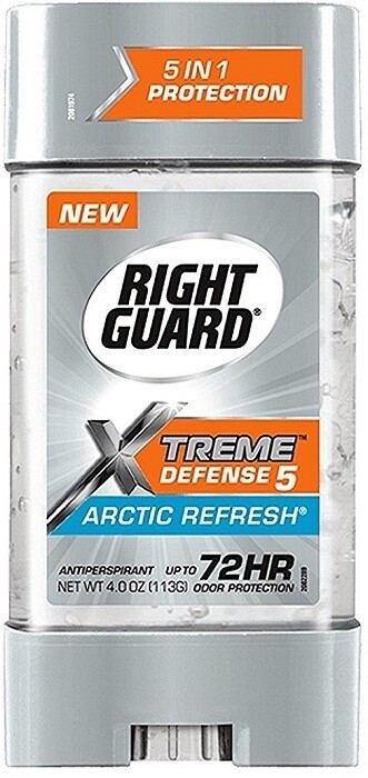 Right Guard Antiperspirant Deodorant, Artic Refresh, 4 Ounce