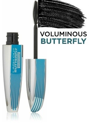 LOreal Paris Voluminous Butterfly Waterproof Mascara, Black, 1 Tube