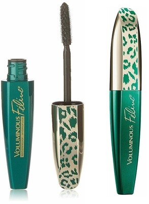 LOreal Paris Voluminous Feline Waterproof Mascara, Black, 1 Tube