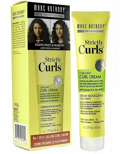 Marc Anthony Strictly Curls Envy Perfect Curl Hair Cream, 6 Ounce