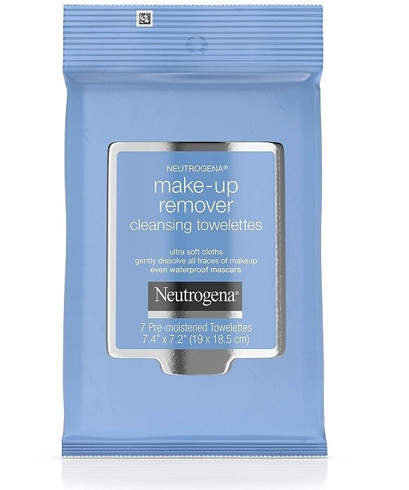 Neutrogena Makeup Remover Cleansing Towelettes, 7 Count, 6 Pack