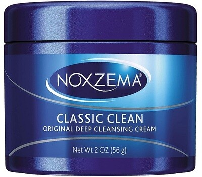 Noxzema Classic Clean Cleanser, Original Deep Cleansing, 2 Ounce
