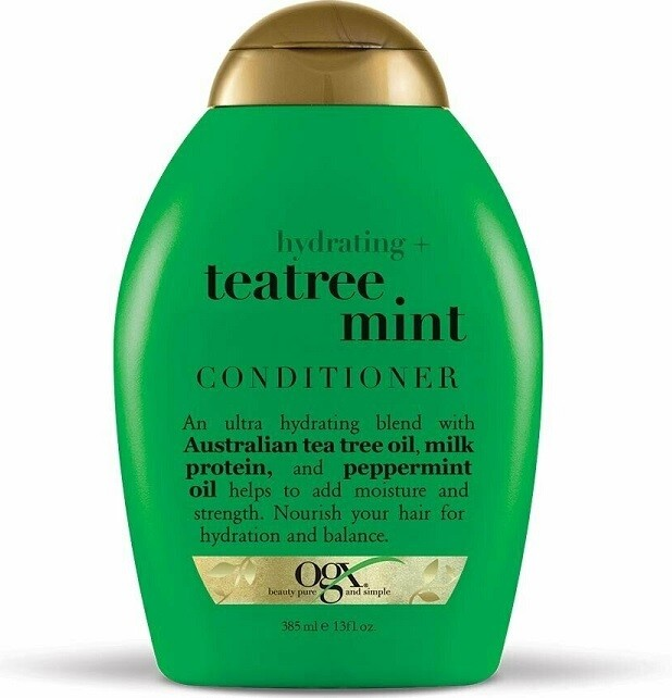 OGX Hydrating TeaTree Mint Hair Conditioner, 13 Ounce