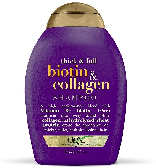 OGX Thick and Full + Biotin and Collagen Hair Shampoo, 13 Ounce